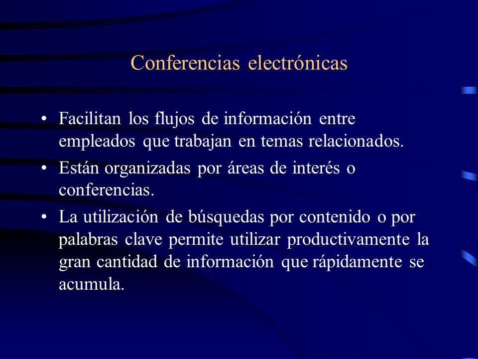 Conferencias electrónicas