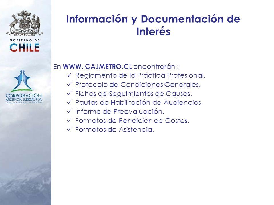 Información y Documentación de Interés