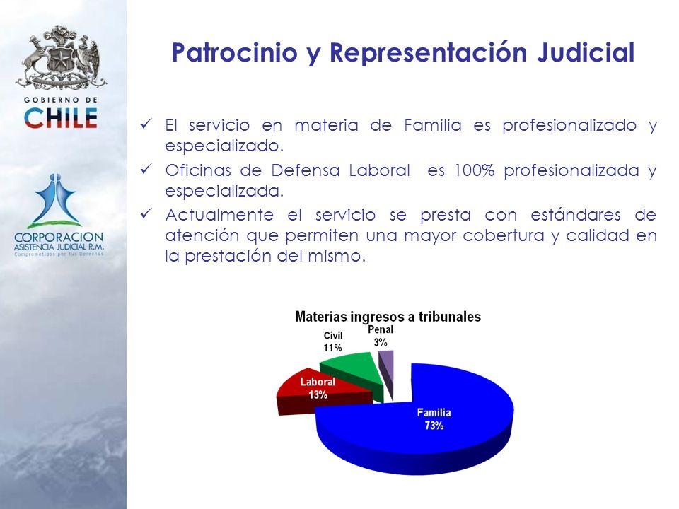 Patrocinio y Representación Judicial