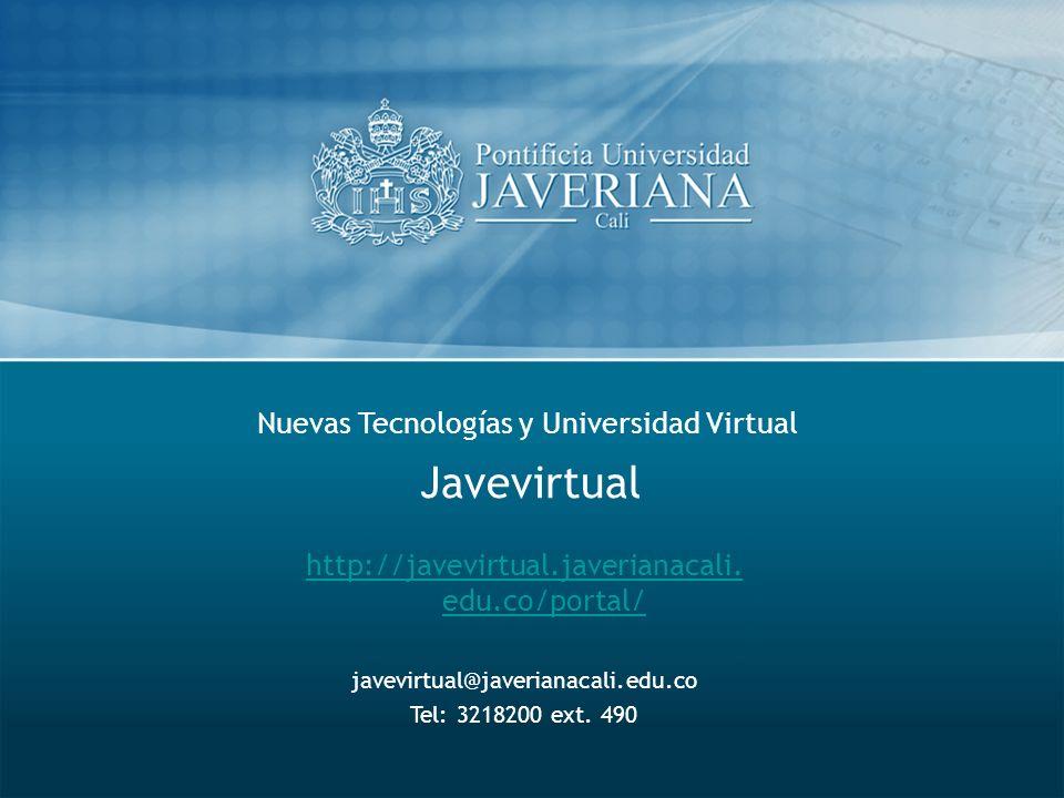 Nuevas Tecnologías y Universidad Virtual