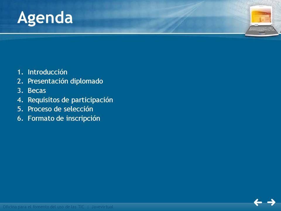 Agenda Introducción Presentación diplomado Becas