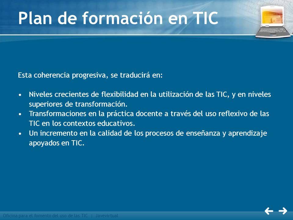 Plan de formación en TIC