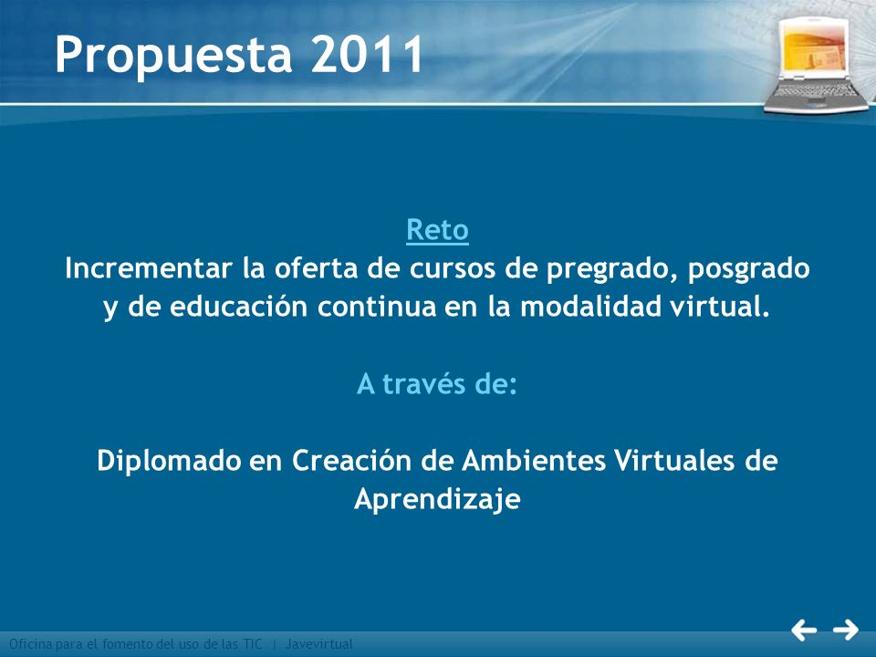 Diplomado en Creación de Ambientes Virtuales de Aprendizaje