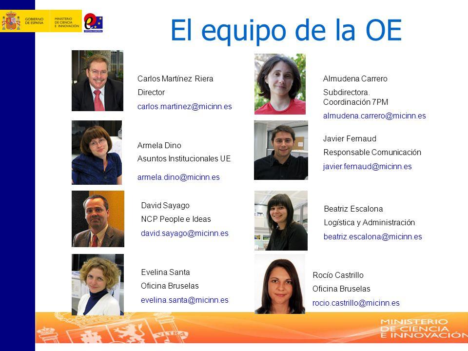 El equipo de la OE Carlos Martínez Riera Director