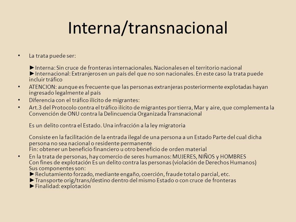 Interna/transnacional