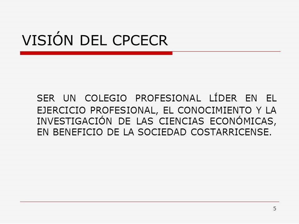 VISIÓN DEL CPCECR