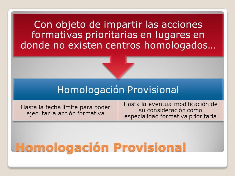 Homologación Provisional