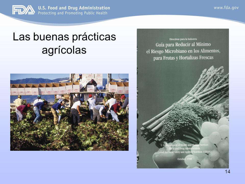 Las buenas prácticas agrícolas
