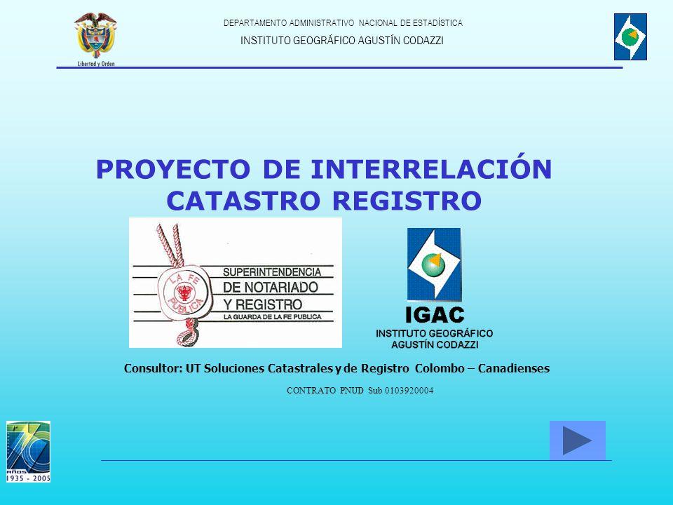 PROYECTO DE INTERRELACIÓN
