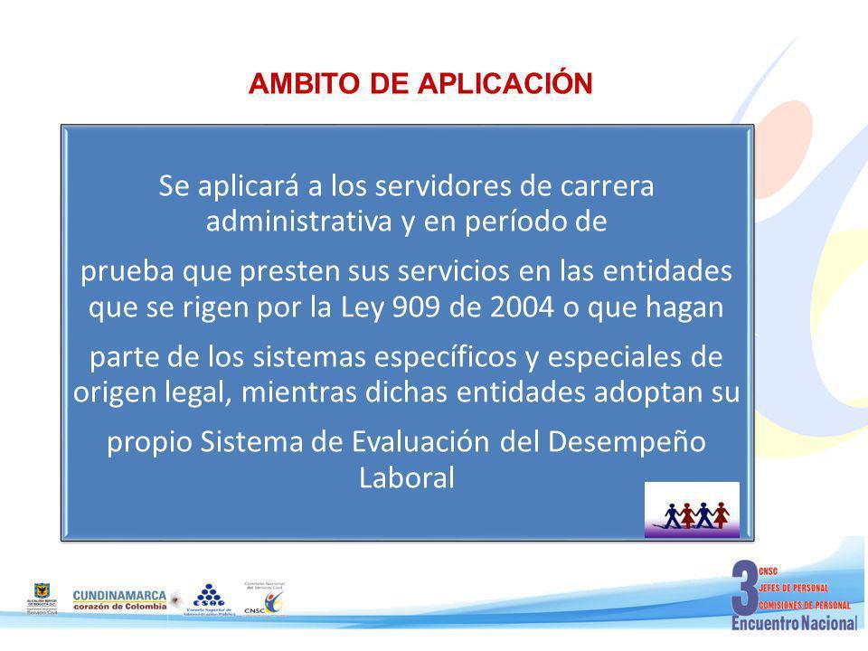 AMBITO DE APLICACIÓN parte de los sistemas específicos y especiales de origen legal, mientras dichas entidades adoptan su.