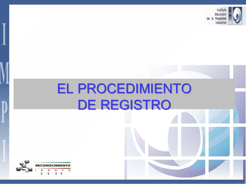 EL PROCEDIMIENTO DE REGISTRO