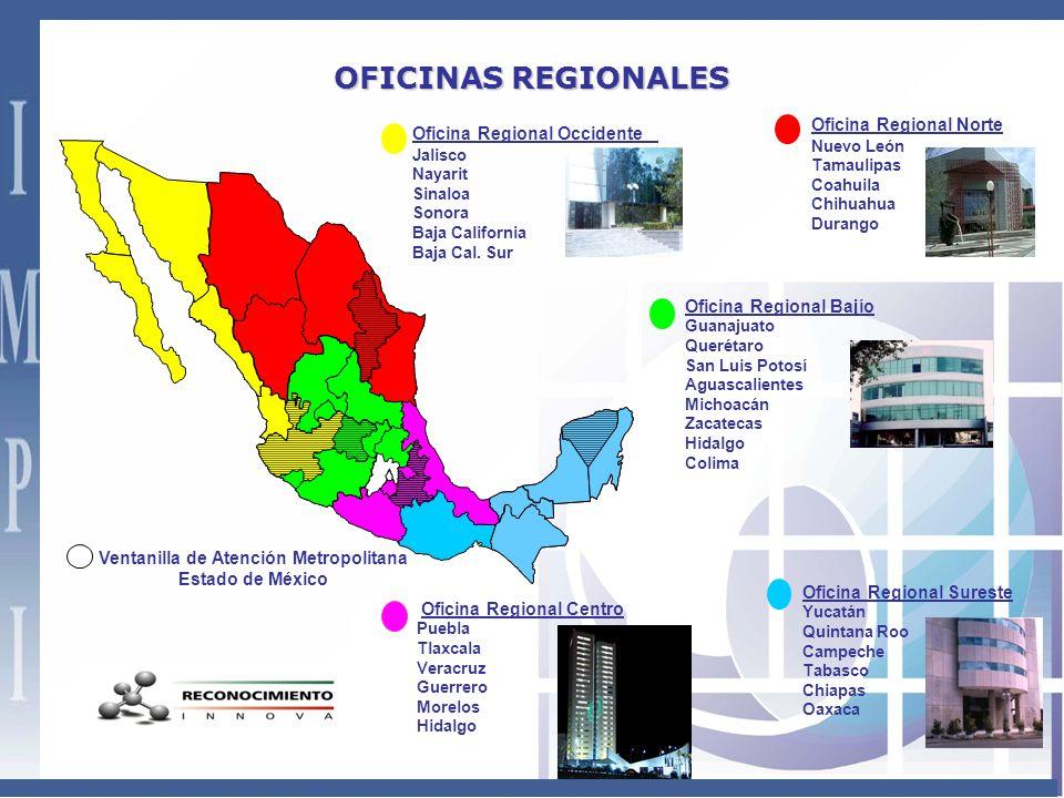 Ventanilla de Atención Metropolitana Oficina Regional Centro