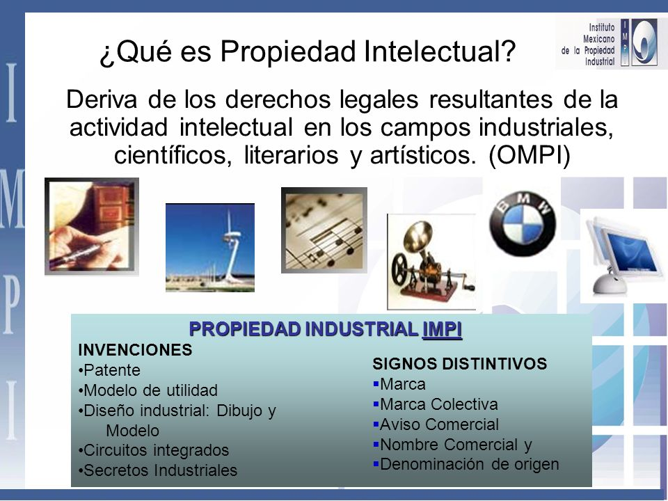 ¿Qué es Propiedad Intelectual