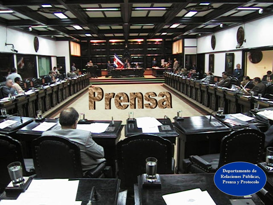 Prensa Departamento de Relaciones Públicas, Prensa y Protocolo