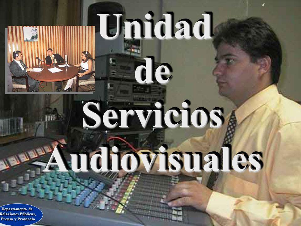 Unidad de Servicios Audiovisuales