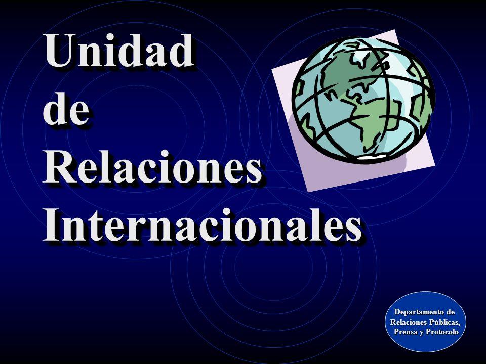 Unidad de Relaciones Internacionales
