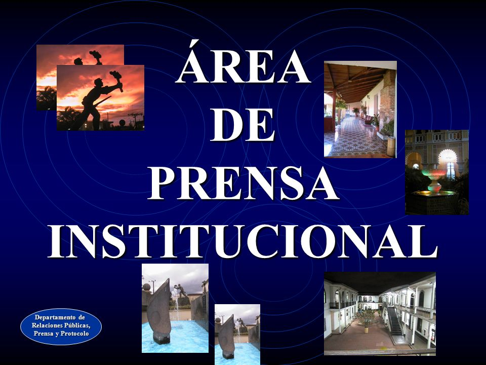 ÁREA DE PRENSA INSTITUCIONAL