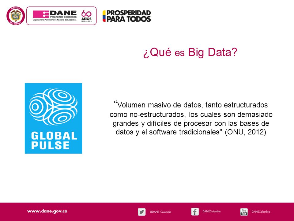 ¿Qué es Big Data