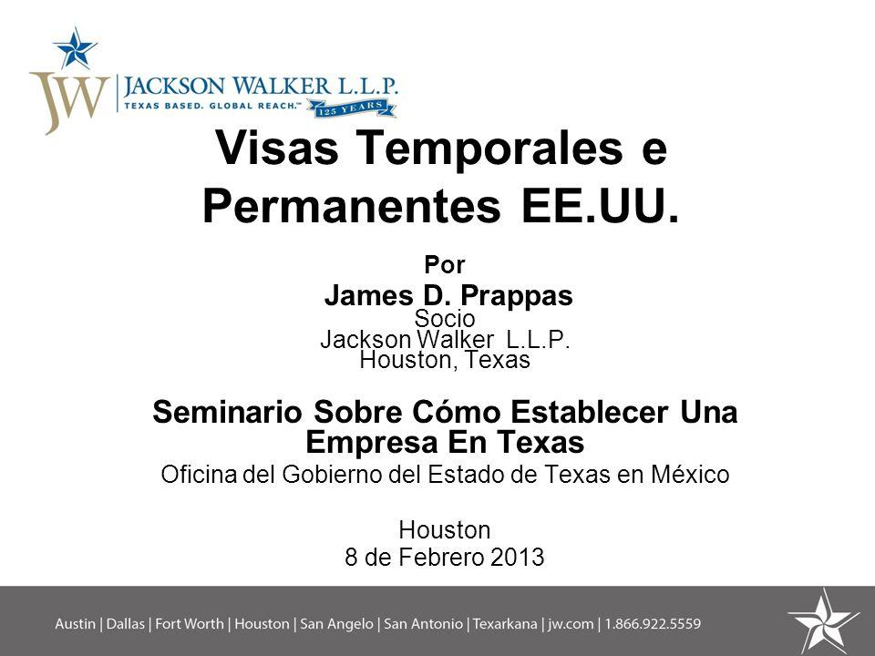 Visas Temporales e Permanentes EE.UU.