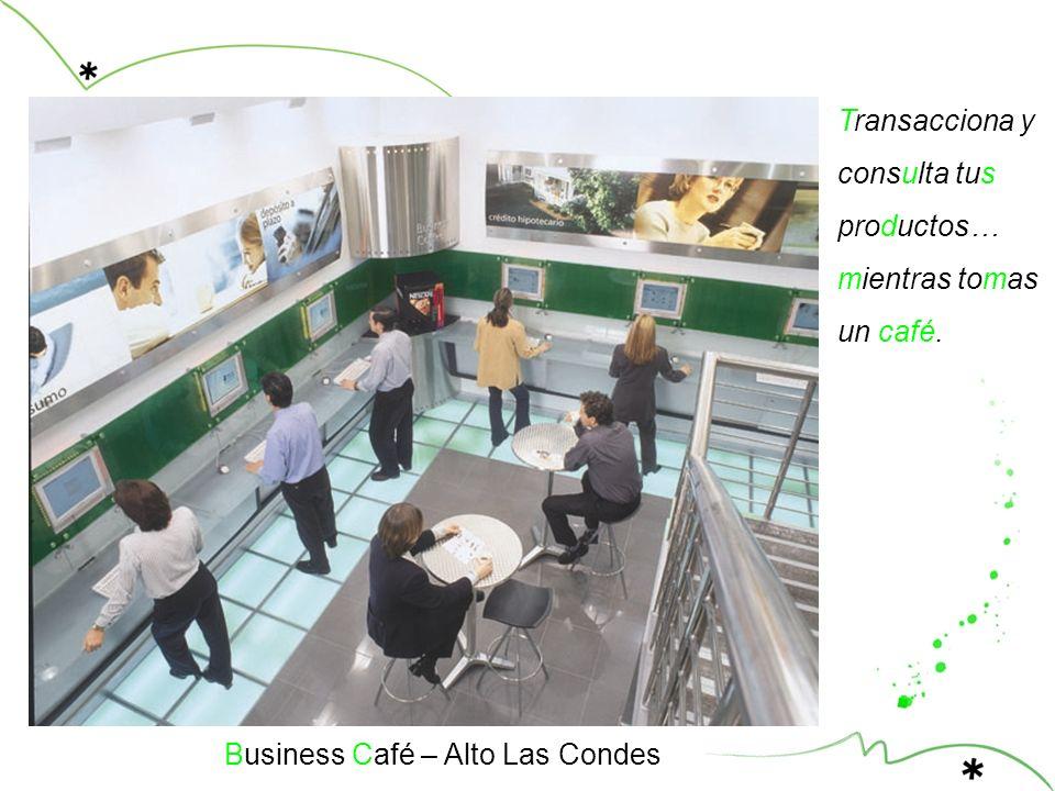 Business Café – Alto Las Condes