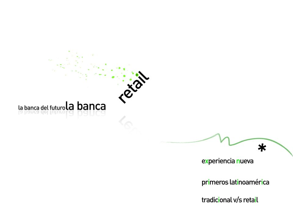 3. La banca del futuro, La banca retail