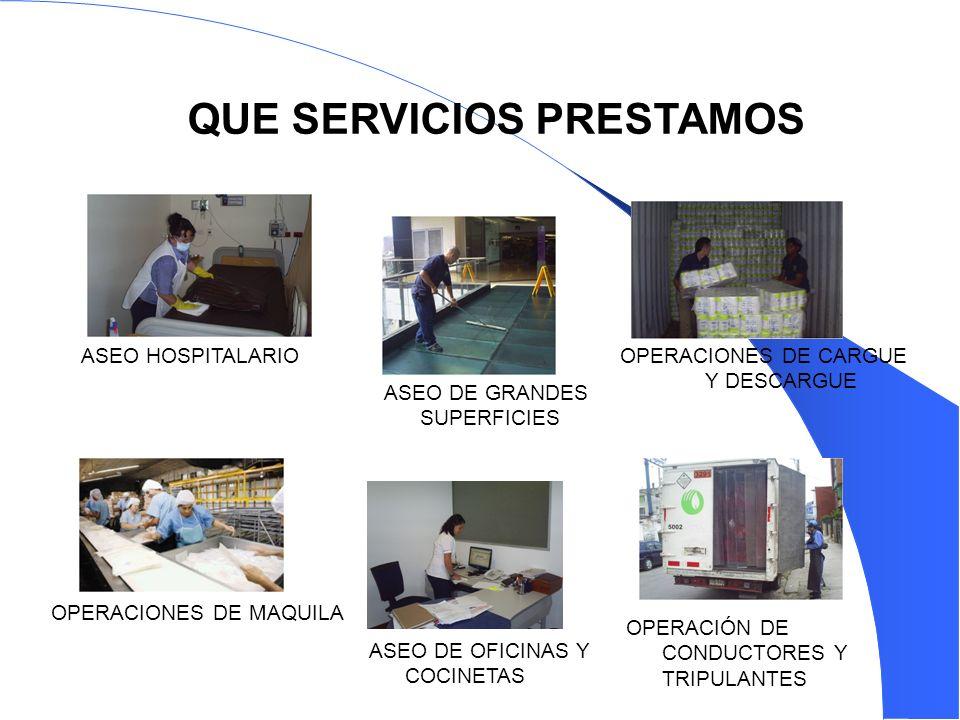 OPERACIONES DE CARGUE Y DESCARGUE