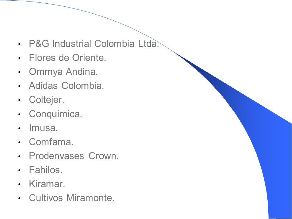 P&G Industrial Colombia Ltda. Flores de Oriente. Ommya Andina.