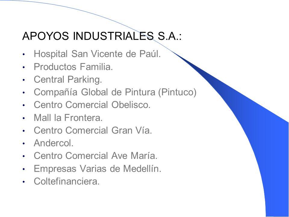APOYOS INDUSTRIALES S.A.: