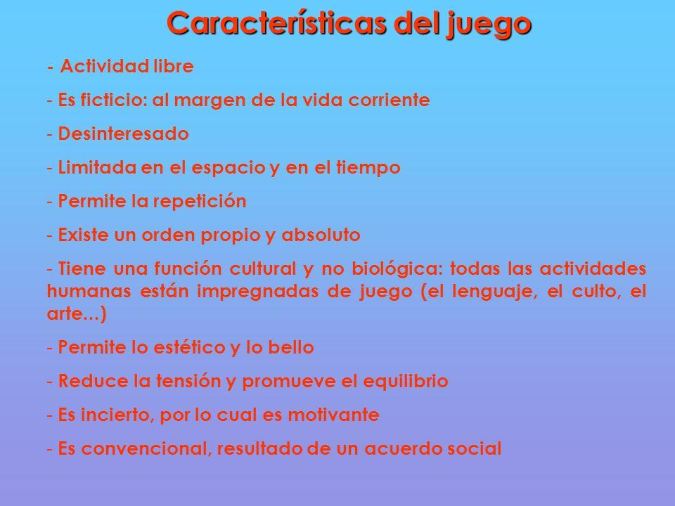 Características del juego