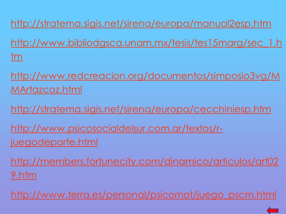http://stratema.sigis.net/sirena/europa/manual2esp.htm http://www.bibliodgsca.unam.mx/tesis/tes15marg/sec_1.htm.