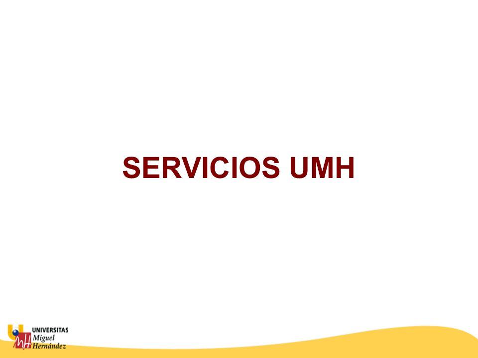 SERVICIOS UMH