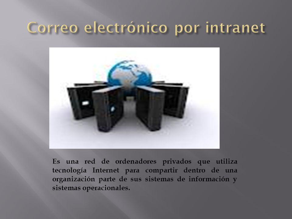 Correo electrónico por intranet