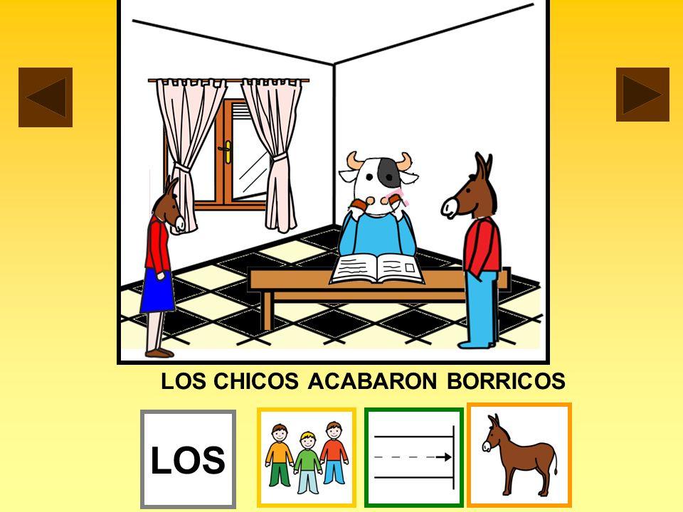 LOS CHICOS ACABARON BORRICOS
