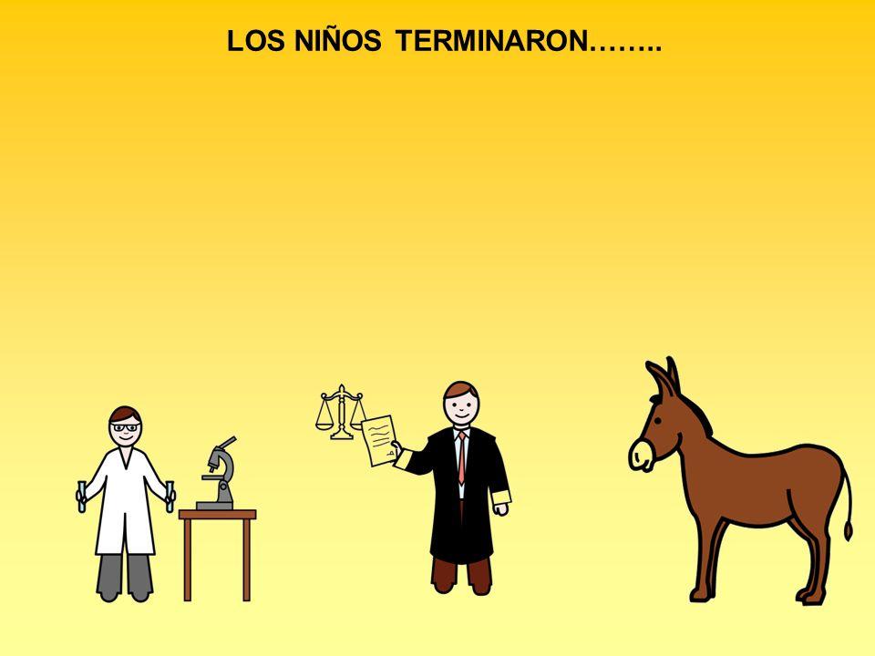 LOS NIÑOS TERMINARON……..