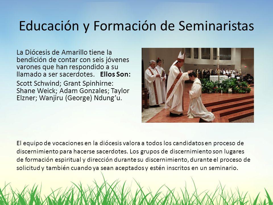 Educación y Formación de Seminaristas