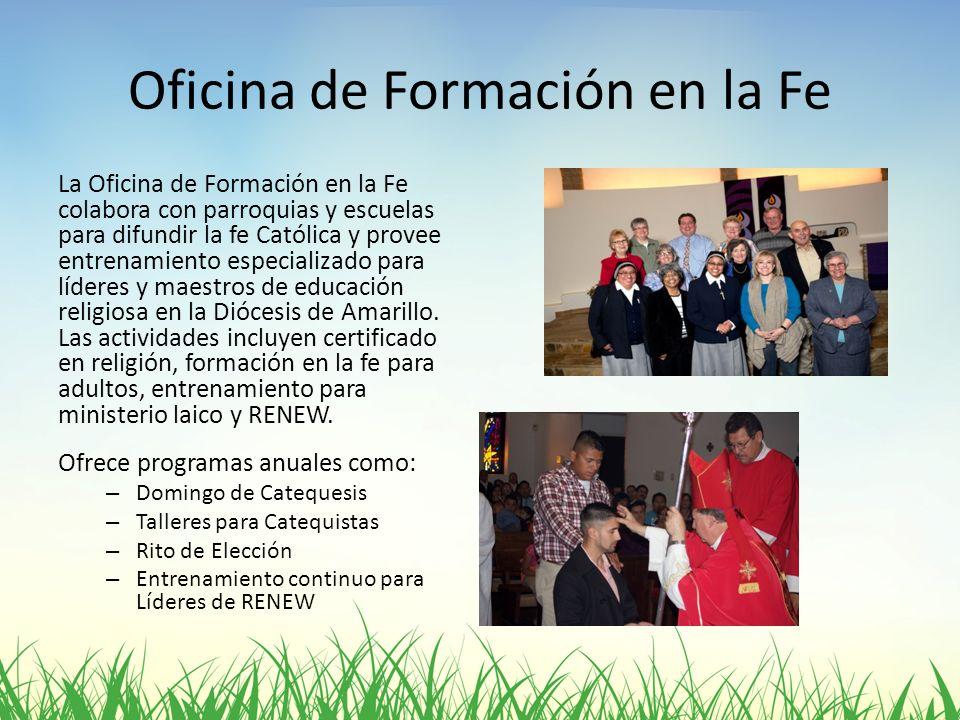 Oficina de Formación en la Fe