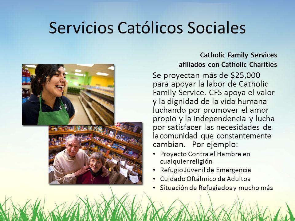 Servicios Católicos Sociales