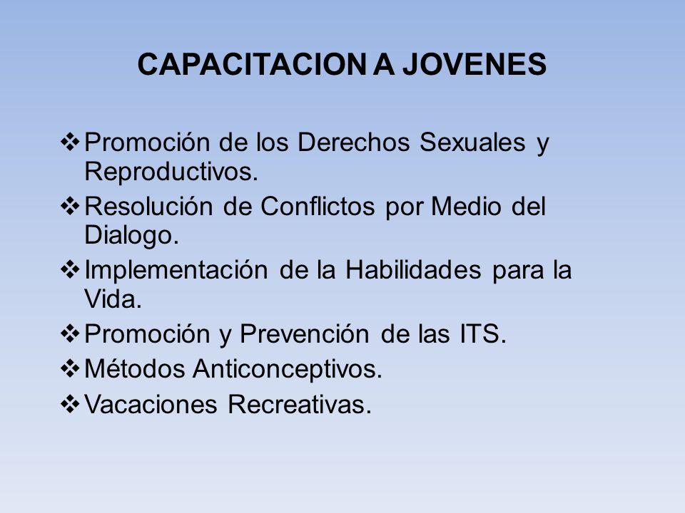 CAPACITACION A JOVENES
