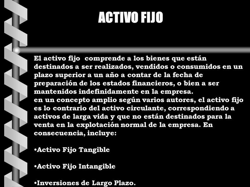 ACTIVO FIJO