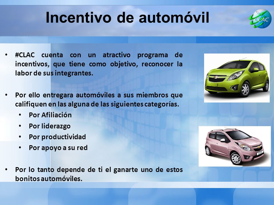 Incentivo de automóvil