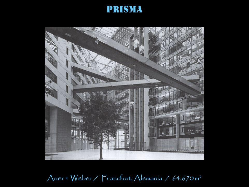 Auer + Weber / Francfort, Alemania / 64.670 m2