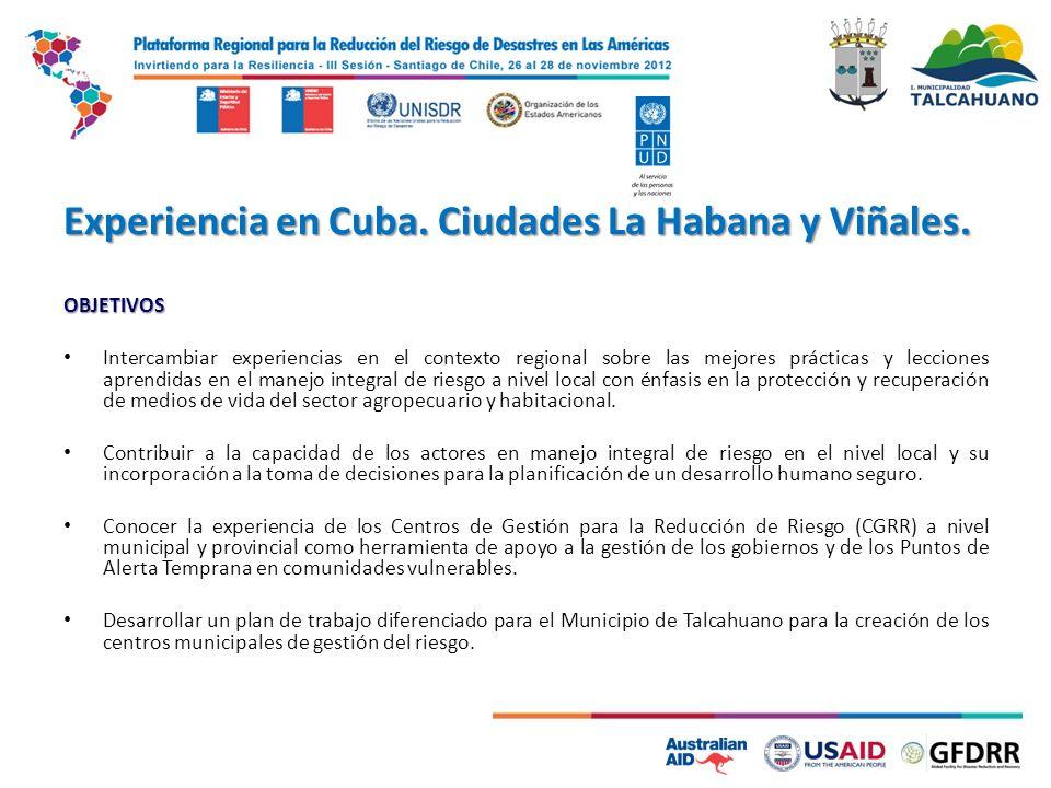 Experiencia en Cuba. Ciudades La Habana y Viñales.