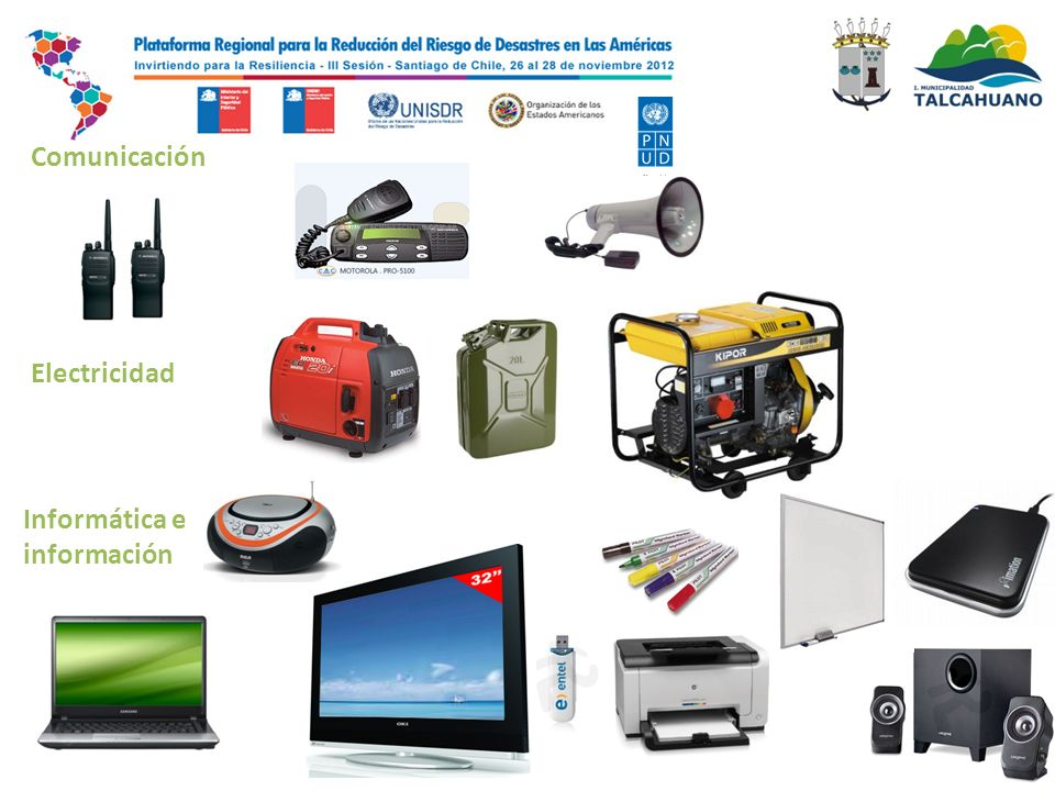 Comunicación Electricidad Informática e información