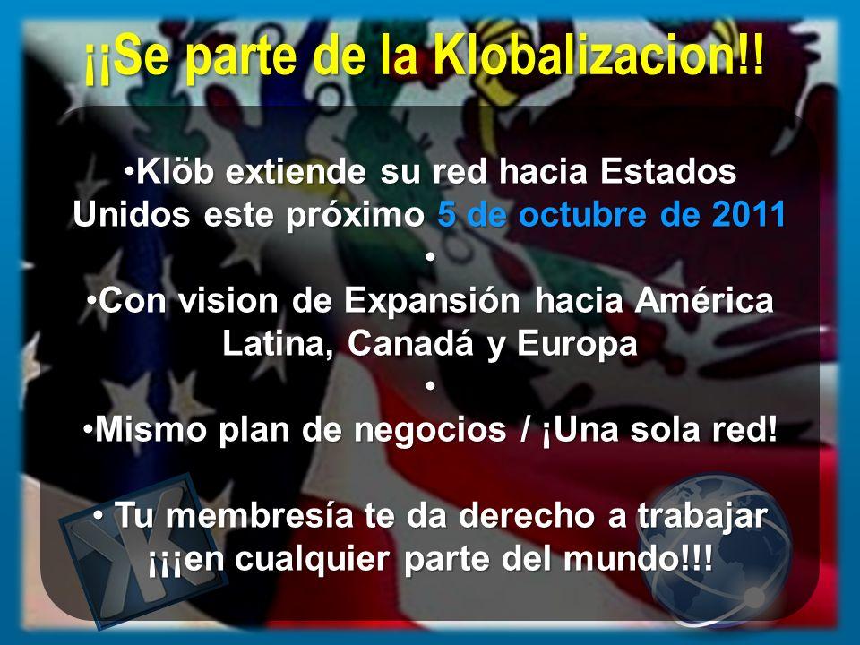 ¡¡Se parte de la Klobalizacion!!