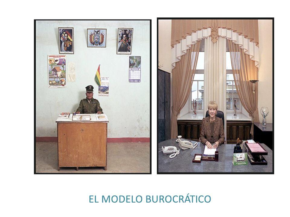 EL MODELO BUROCRÁTICO