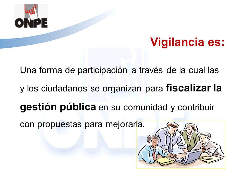 Vigilancia es: