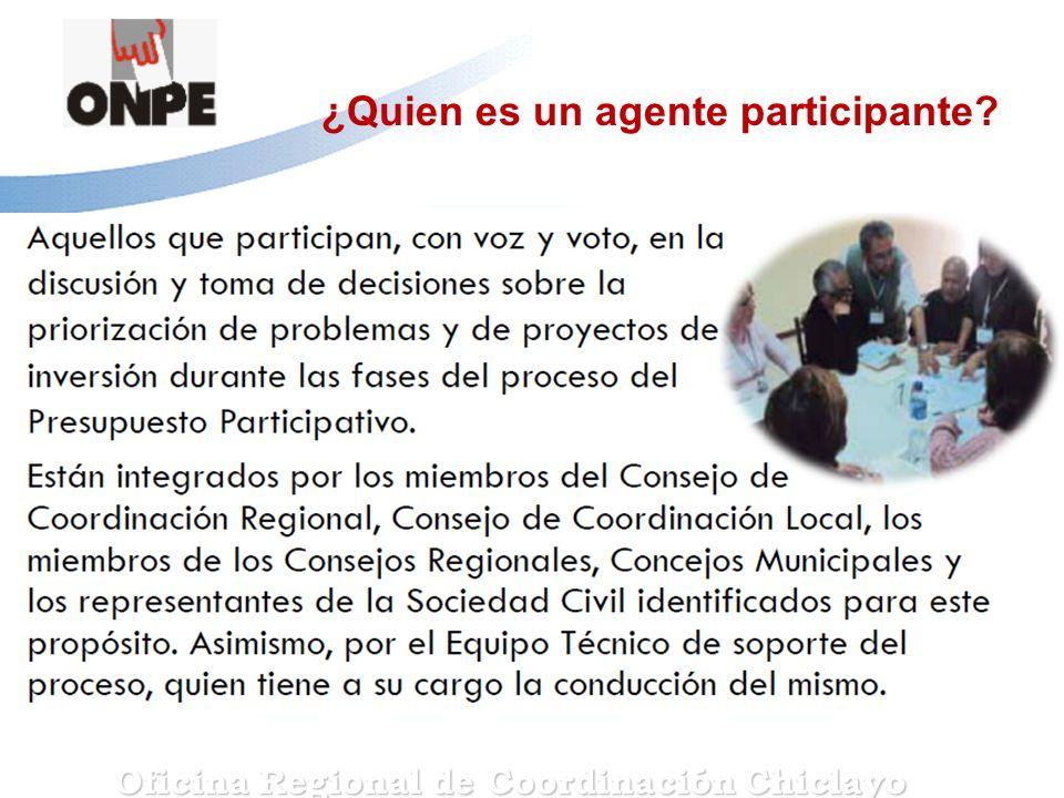 Oficina Regional de Coordinación Chiclayo