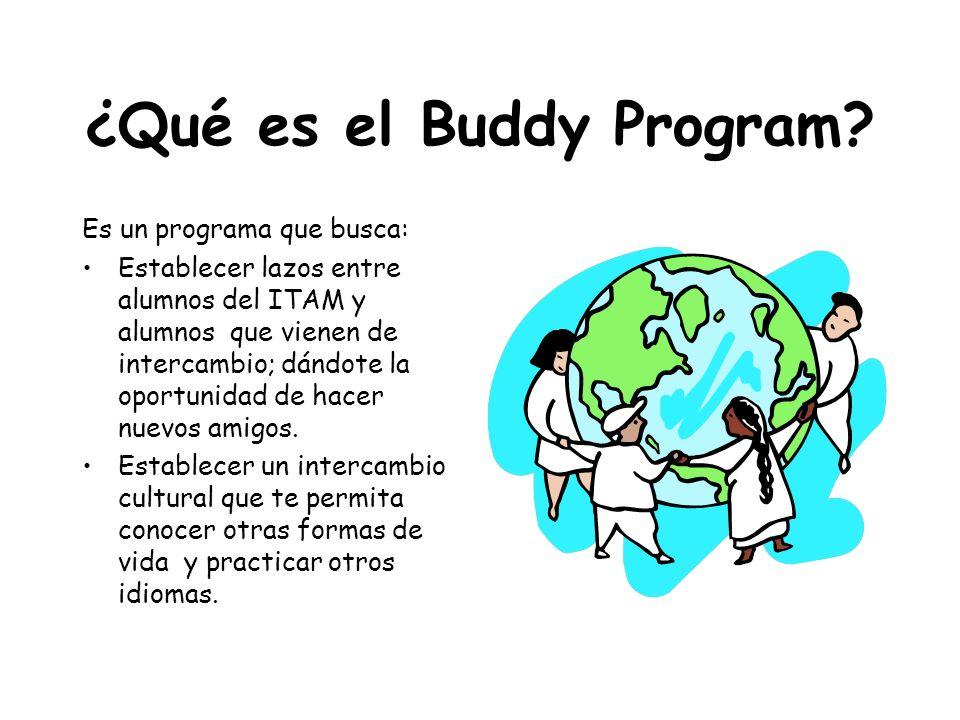 ¿Qué es el Buddy Program
