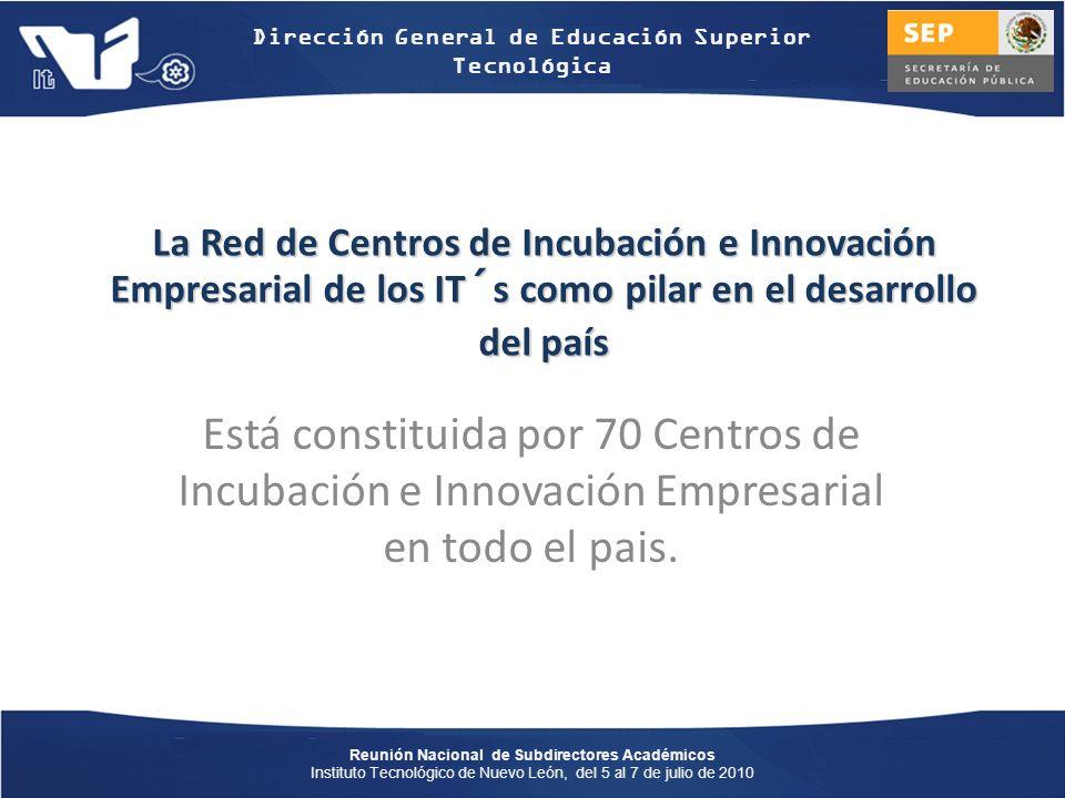 La Red de Centros de Incubación e Innovación Empresarial de los IT´s como pilar en el desarrollo del país