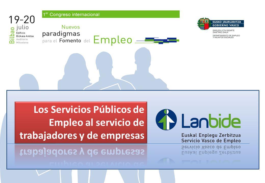 Los Servicios Públicos de Empleo al servicio de trabajadores y de empresas